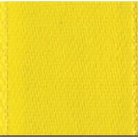 Лента атласная двусторонняя SAFISA мини-рулоны, 11 мм, 4 м, цвет 32, желтый