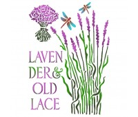 """Трафарет """" Lavender old lace"""""""