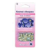 Кнопки Анорак c цветными пластиковыми шляпками
