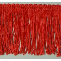 Бахрома 50 мм, цвет красный