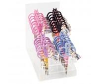 """Набор ножниц для вышивания """"Коты"""" в пластиковом дисплее, 10,5 см, 24 шт"""