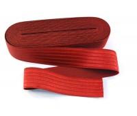 Резинка-пояс, 40 мм, цвет красный
