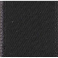 Лента атласная двусторонняя SAFISA мини-рулоны, 11 мм, 4 м, цвет 01, черный