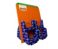 Картонная подствка под буклеты продукции GELA.RU, 4 кармана