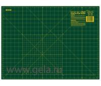 Мат для пэчворка, толщина 1,6 мм, зеленый, 45 х 60 см