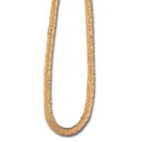 Шнур атласный SAFISA 1,5 мм, 25 м, цвет 54, золотистый