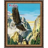 """Картина стразами """"Горный орел"""""""