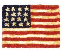 """Набор для вышивания коврика """"Американский флаг"""""""