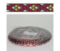 Лента PEGA с орнаментом ромбы, 9 мм