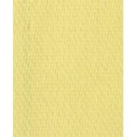 Лента атласная двусторонняя SAFISA, 11 мм, 25 м, цвет 10, светло-желтый
