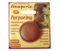 """Порошок """"Porporina"""" для затирания трещин и золочения, 17 мл"""