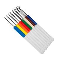 Набор крючков для вязания с пластиковой ручкой addiColours