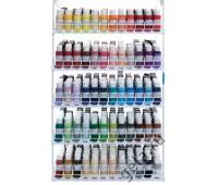 Стенд для акриловых красок на 60 рядов, ARTISTE