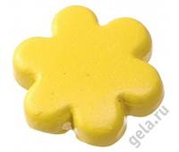 """Заклепки металлические """"Цветок"""", желтые"""