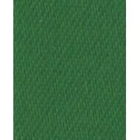Лента атласная двусторонняя SAFISA, 11 мм, 25 м, цвет 25, зеленый