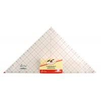 """Линейка-треугольник с углом 90*, градация в дюймах, 12 1/2"""" x 12 7/8"""""""