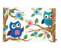 """Набор для вышивания коврика """"Беседующие совы"""""""