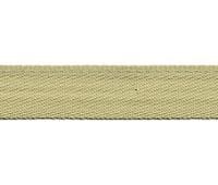 Тесьма брючная PEGA, цвет бежево-зеленый, 15 мм