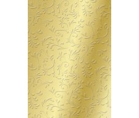 """Бумага """"Roma""""с рельефным рисунком, А4, 220 г, золотистый"""