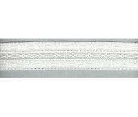 Шитьё с мерсеризованным кружевом, 42 мм, цвет белый