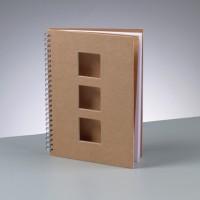 Тетрадь для записей, 60 листов, формат A5 / 21,5 x 15 cм