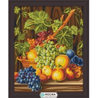 """Картина по номерам """"Сочный виноград"""""""