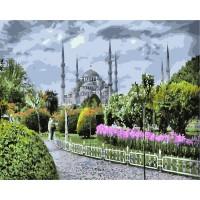 """Картина по номерам """"Голубая мечеть"""""""