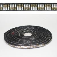 Лента PEGA с орнаментом шахматка, 10 мм