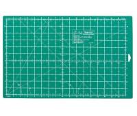"""Мат для раскройного ножа двусторонний, с разметкой 430 мм х 280 мм / 17"""" x 11"""""""