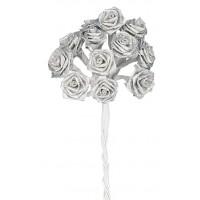 """Букет для декорирования """"Серебряные розы"""""""