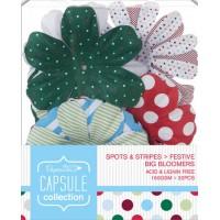 """Декоративные элементы """"Крупные цветы"""" Spots & Stripes Festive"""
