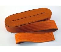 Резинка-пояс, 40 мм, цвет оранжевый
