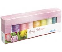 """Набор с нитками Seralon """"Оттенки Весны"""" в подарочной упаковке, 8 катушек"""