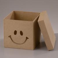 """Заготовка из из картона, коробка """"Смайлик"""""""