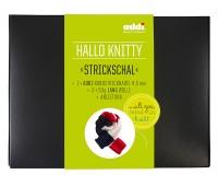 Набор для вязания шарфа Hello Knitty Strickschal