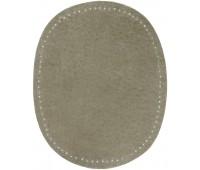 Заплатки пришивные HKM искусственная кожа, цвет серый