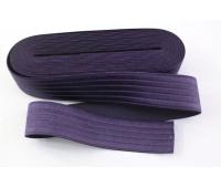 Резинка-пояс, 40 мм, цвет фиолетовый