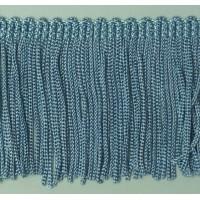 Бахрома 50 мм, цвет серо-голубой