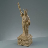 """Заготовка из папье-маше """"Статуя Свободы"""" бумага, 11 x 11 x 38,5 см"""