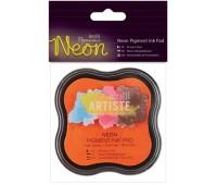 Подушка штемпельная пигментная, Neon оранжевый
