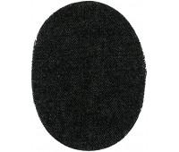 Заплатки пришивные HKM искусственная кожа, цвет коричневый