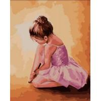 """Картина по номерам """"Балерина малышка"""""""