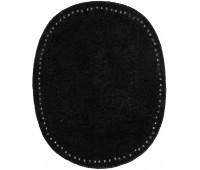 Заплатки пришивные искусственная кожа, цвет черный