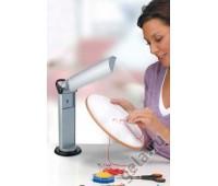 Лампа настольная с вращающимся источником света