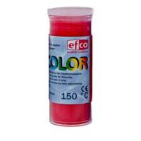 Пудра для эмалирования Efcolor прозрачная красная
