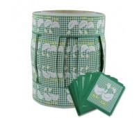 """Комплект: декор. тесьма для штор, """"Гуси"""",цвет зеленый,20м"""