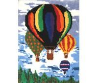 """Набор для вышивания коврика """"Воздушные шары"""""""