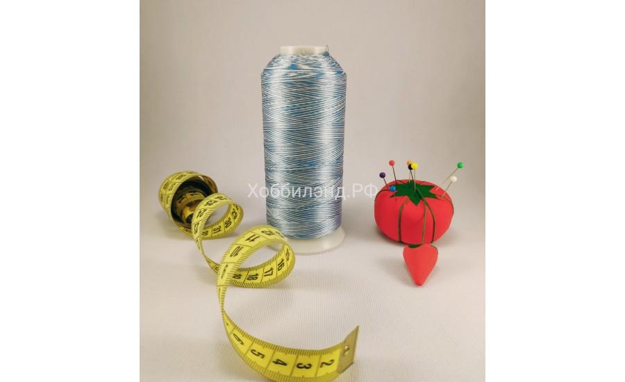 Нить вышивальная меланж Р120/2m цв.3M03