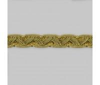 Сутаж отделочный M-1-2 золото (12 м)