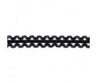 Резинка кружево 1043S черный (132 м)